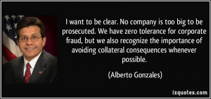 More Alberto Gonzales Quotes
