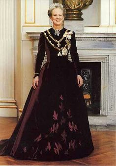 Queen Margrethe II of Denmark More
