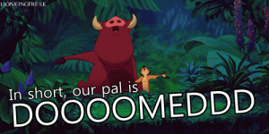 Timon And Pumbaa Quotes Timon and pumbaa :) · found on ...