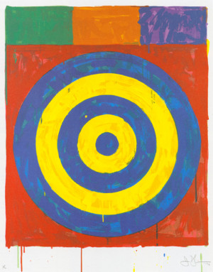 Jasper Johns, his paintings, quotes, and biography