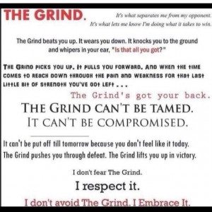 Grind Quotes
