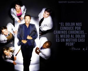 house dr house house m d series spanish quotes citas q espanol