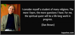 More Dan Brown Quotes