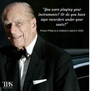 Queen's birthday: Let's hope Prince Philip says something else ...
