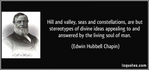 Hill and valley, seas and constellations, are but stereotypes of ...