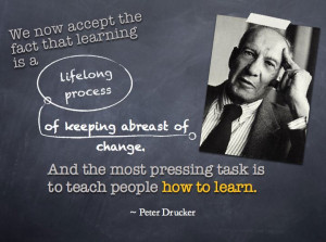 Peter Drucker Measure Quote