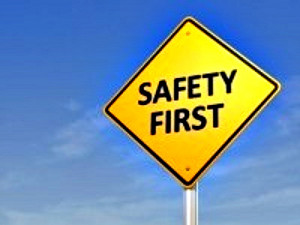 Put Safety First