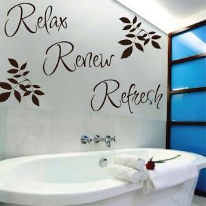 Relax-Refresh-Renew-Bathroom-Wall-Quote-Art-Vinyl-Decal-Sticker ...