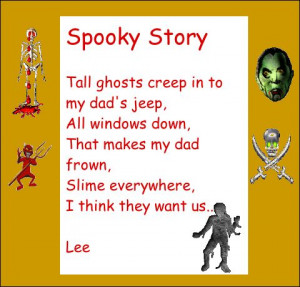 spooky or scary poems
