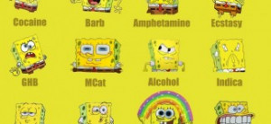 Spongebob Quotes for You: Spongebob On Different Drugs Funny Quotes