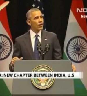 US President Obama Quotes SRK's DDLJ Senorita, Bade Bade Deshon Mein ...