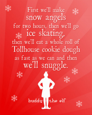 Free Christmas Printable Movie Quote from