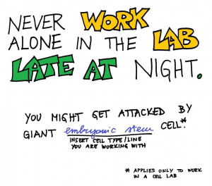Lab Safety Rule No. 2