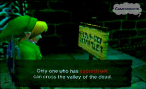 Legend Of Zelda Love Quotes Video game quote of the week: