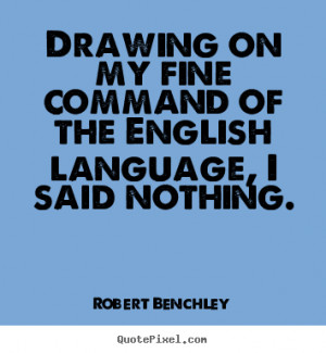 Quotes About The English Language