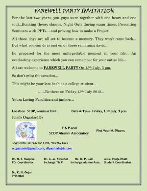 farewell party invitation farewell party invitation by jizhen1947