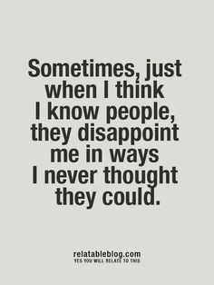 Friendship Disappointment Quotes Disappointment quotes,