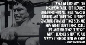 Arnie on #bodybuilding motivation.