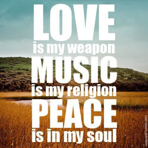 love, music, peace, photography, quote, quotes, religion, soul, text ...