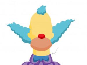 Krusty The Clown Simpsons...