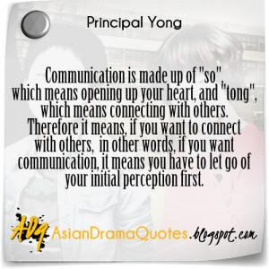 Korean Drama Quotes - Queen's Classroom