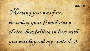 Love quotes, falling in love with you
