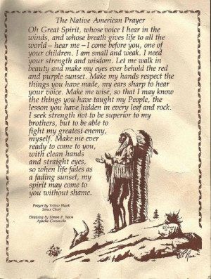 blessing quotes and sayings native american prayers blessings quotes ...