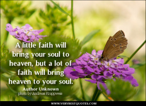 faith quotes, soul quotes, heaven quotes