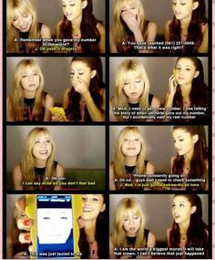 Funny quotes by Sam and cat