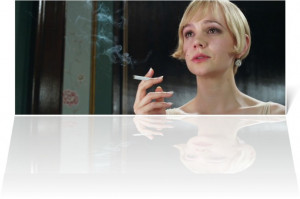 of Carey Mulligan as Daisy Buchanan , in