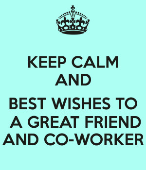 Best Wishes Messages for Co Worker