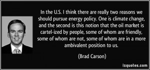 More Brad Carson Quotes