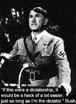 Bush's infamous