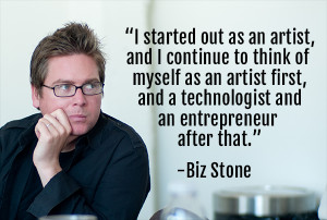 Biz Stone Co Founder of Twitter