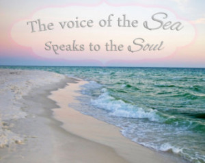 Beach quote, beach saying, quote, Beach Photography, beach waves ...