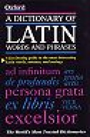 Dictionary of Latin Words and Phrases