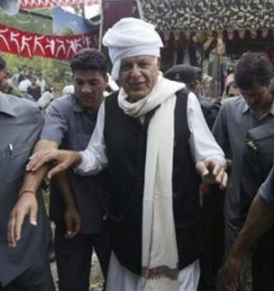 Ganderbal (J-K), May 7: National Conference President Farooq Abdullah ...