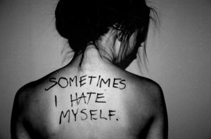 eww, fat, hate, i hate myself, insecurities, insecurity, kill us, me ...
