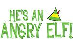 angry elf he s an angry elf if you love the great christmas movie elf ...