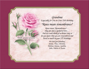 Personalized Gift for Grandma Keepsake and Remembrance