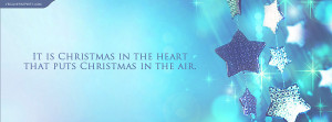 Christmas In The Heart Puts Christmas There Quote Wallpaper