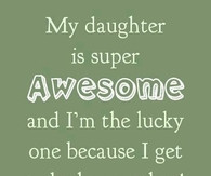 Proud Father To Daughter Quotes. QuotesGram Quotes About Daughters Love