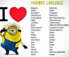 Tagged with minion language