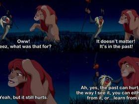 lion king quotes photo: Simba and Rafiki The Lion King b2c81789.jpg