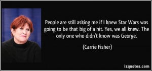 Carrie And Big Quotes More carrie fisher quotes