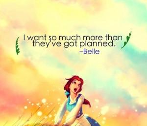 Disney Princess Belle Quotes Disney belle