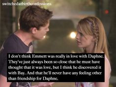 Switched at Birth Confessions- I kinda agree with this one... More