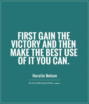 Horatio Nelson Quotes
