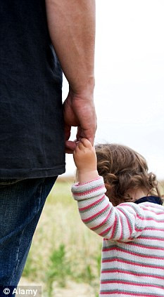 Distraught: Many divorced fathers describe the loss of their children ...