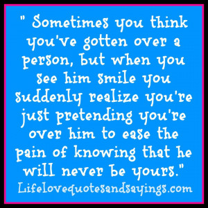 Love Quotes Pain Sometimes You Think Love Quotes And Sayingslove ...